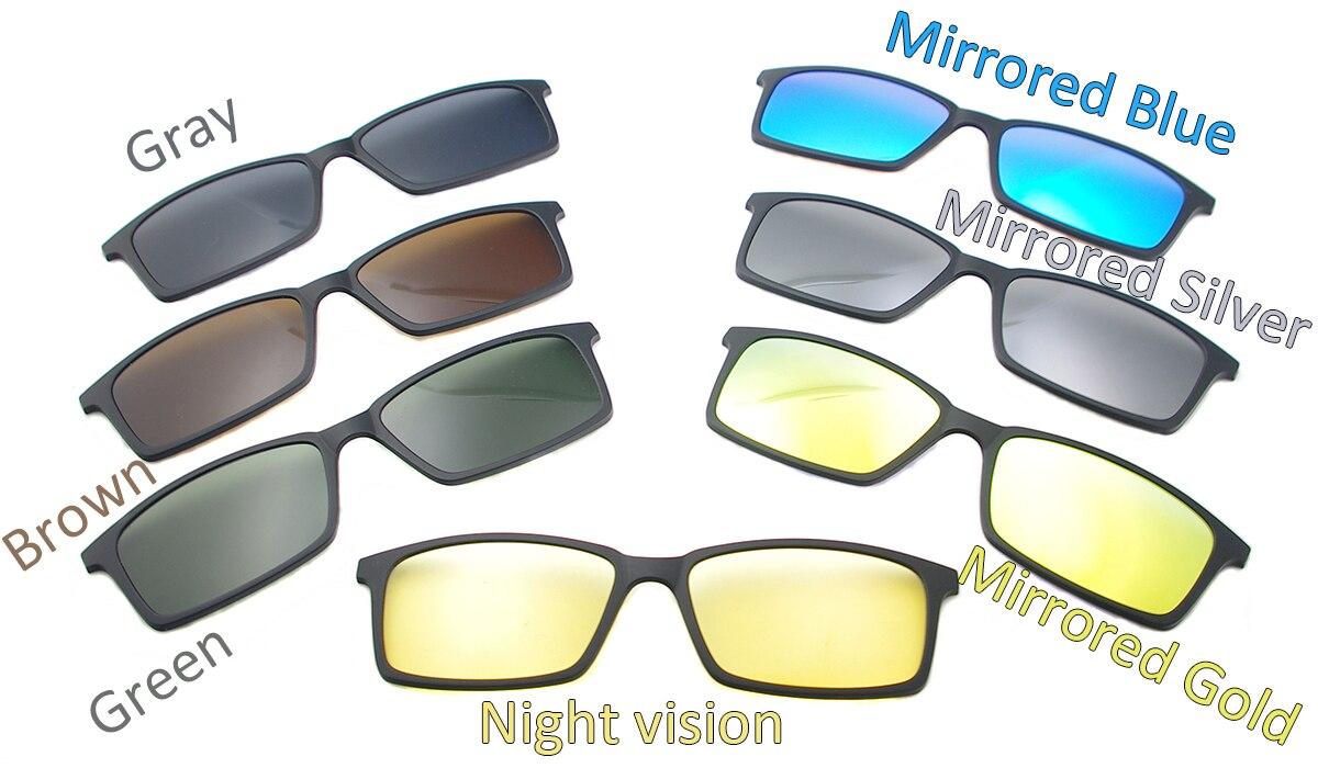aeProduct.getSubject() · Homens Rodada Do Vintage óculos de Sol Magnética  Clip-On Para O Modelo 5518USD 9.46 piece. TendaGlasses Leve Flexível  Retangular ... 6c0d97d850