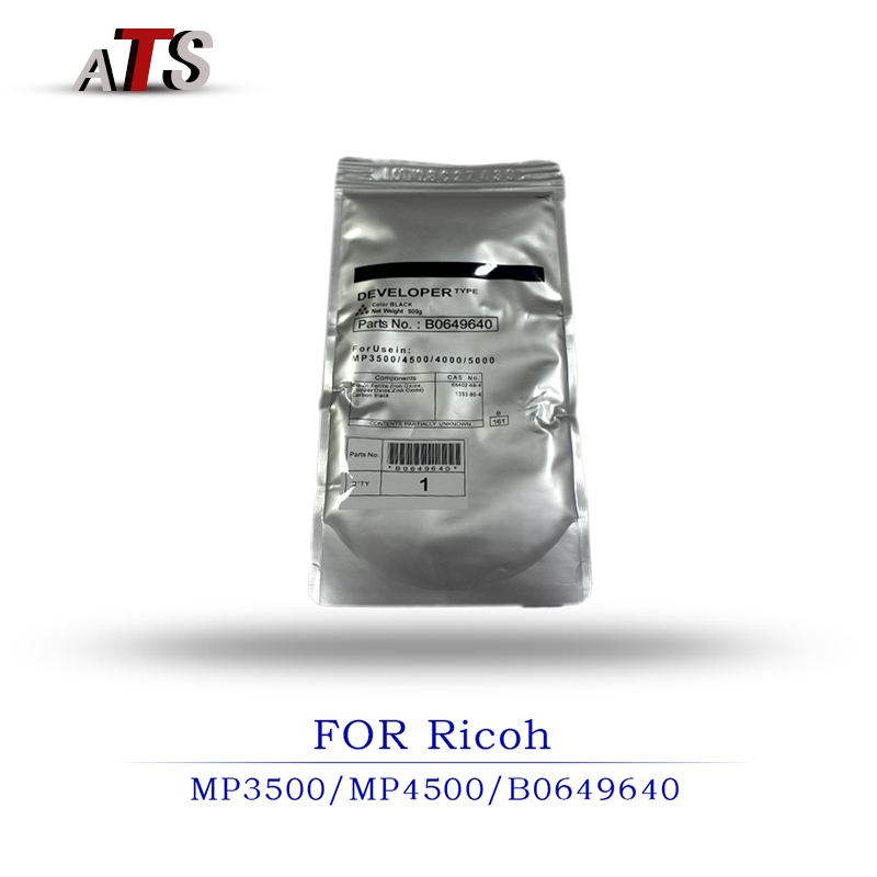 2PCS Code B0649640 For Ricoh AFicio TONER Developer MP 3500 4500 4000 5000 toner Developer Powder