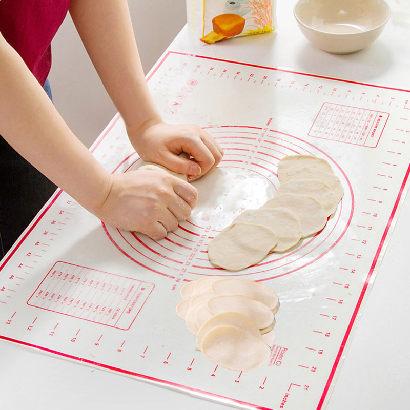 40*60cm Large size of silicone baking mat,attach scale ...