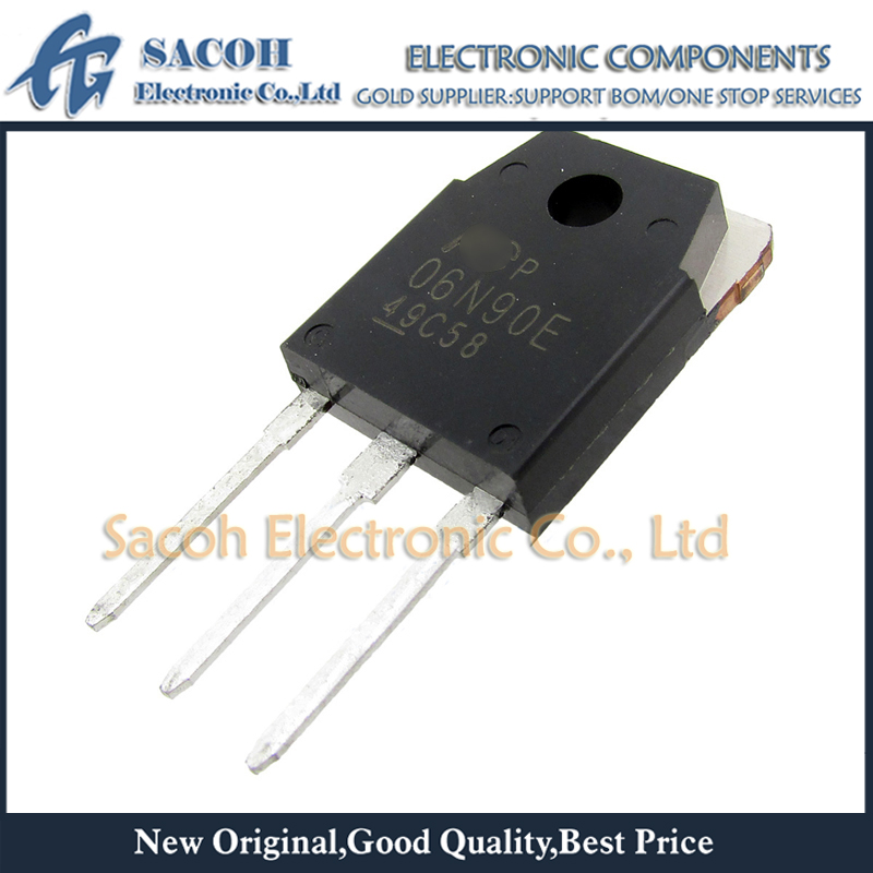 Dorigine 10 PCS/Lot FMH06N90E 06N90E 06N90G 06N90 ou FMH07N90E 07N90E 07N90G TO-3P 6A 900V Transistor MOSFET