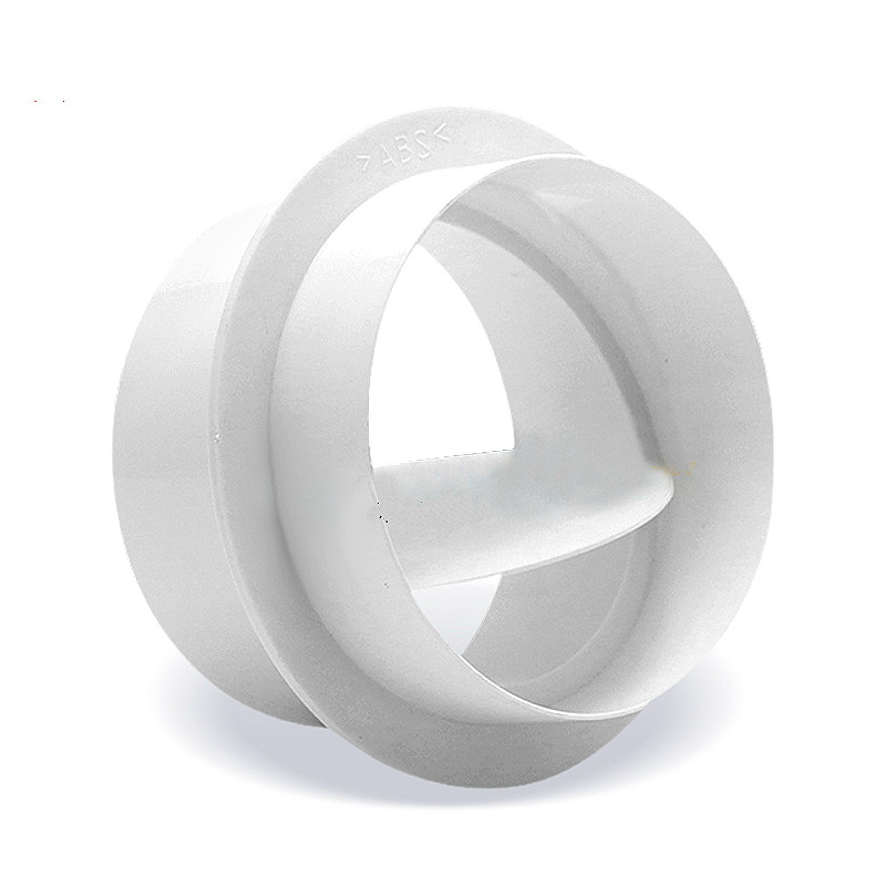 Pvc Exhaust Fan Check Valve Round Pipe