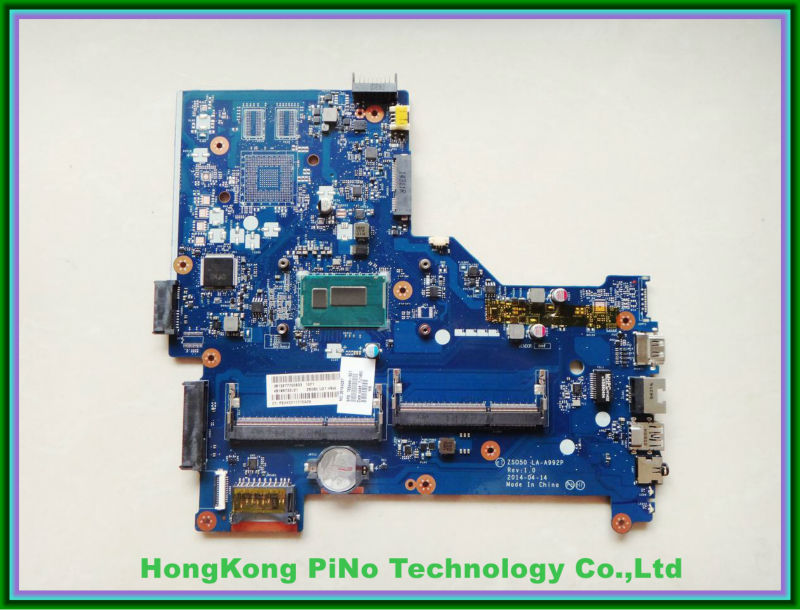 765444-501 for HP 15-R Series Laptop Motherboard i3-4005 CPU LA-A992P ZSO50 fully tested working