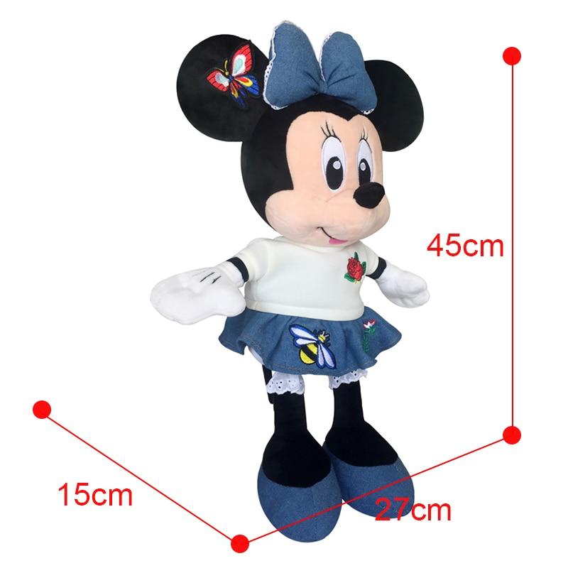 552cadebc6f3 Disney Brand Mickey Mouse Minnie 49cm Big Plush Stuffed Animal Toys Doll  Baby Boys Girls Kids Toys for Birthday Christmas Party-in Stuffed   Plush  Animals ...