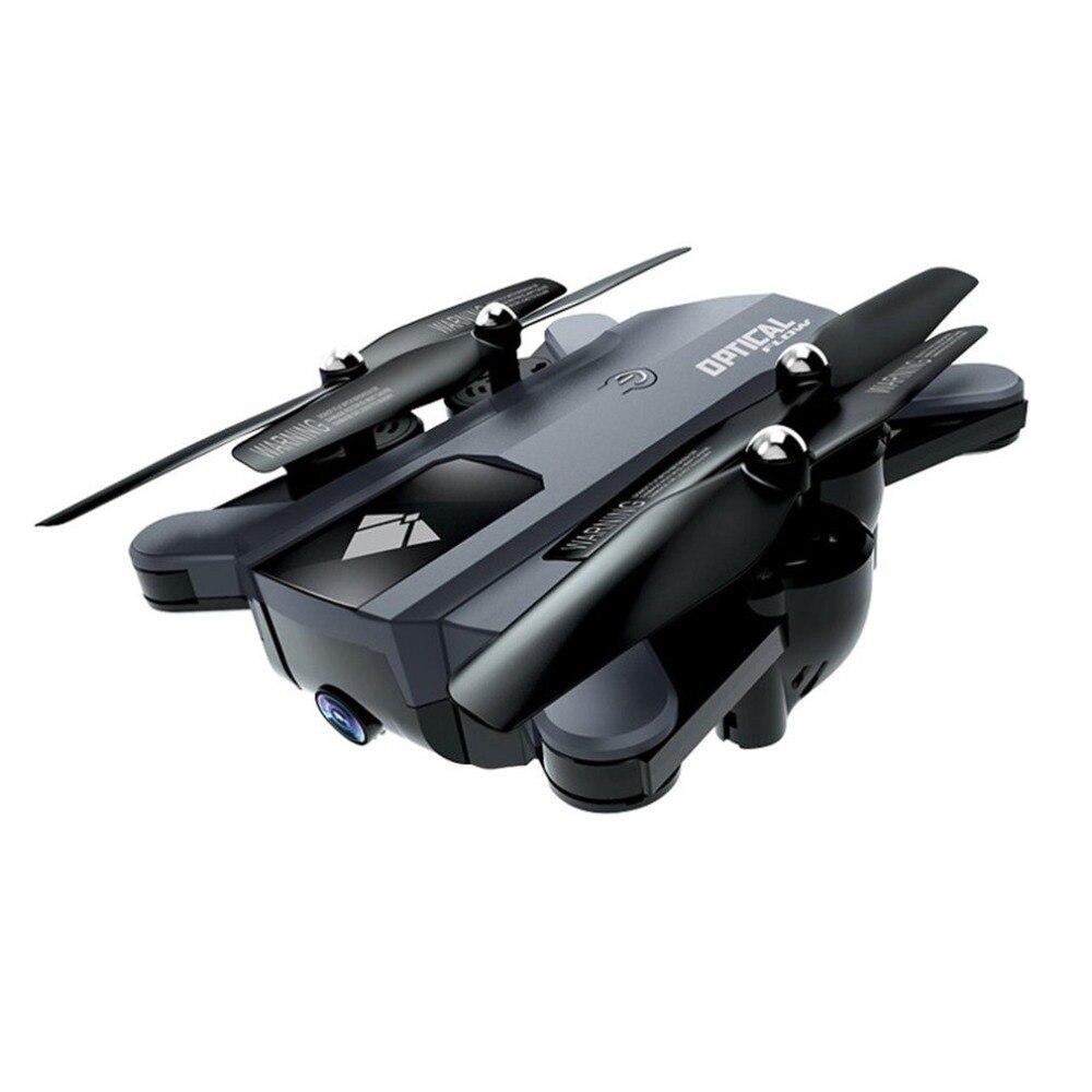 F196 Tempo de Longa Duração 2.4G Fluxo Óptico Modo Headless Quadcopter Zangão com Câmera HD 720 P Wi-fi Câmera Gesto brinquedo do RC Zangão