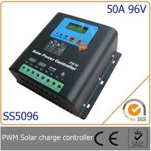 50A 96 В ШИМ Солнечный Контроллер Зарядки со СВЕТОДИОДОМ и ЖК-Дисплей, автоматическое Определение Напряжения, MCU дизайн с высокой производительностью