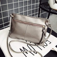 summer women messenger bags solid fashion small falp bags zipper bag female over the shoulder leather crossbody bags for women