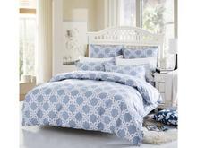 Комплект постельного белья семейный СайлиД, A, рисунок, голубой