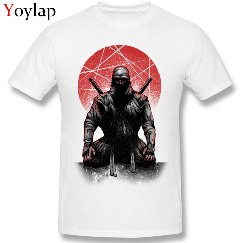 Cool Mens T-shirt Cotton Tops & Tees O-neck Short Sleeve Vintage Style Summer Autumn Clothing The Slicer Cartoon Design Warrior