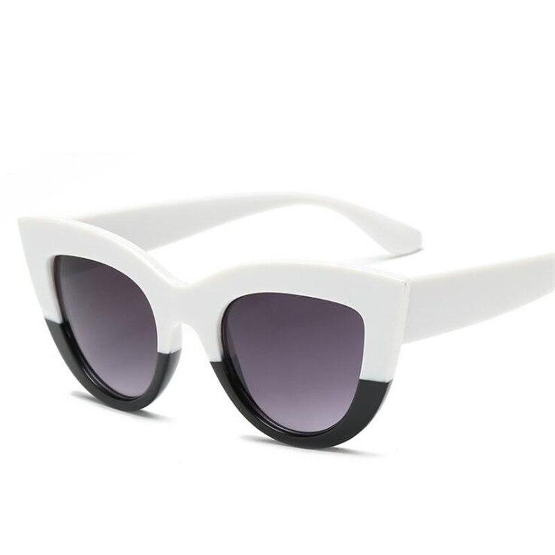 2019 Nowy Cat Eye Kobiety Okulary Przeciwsłoneczne Kolor Soczewki 3