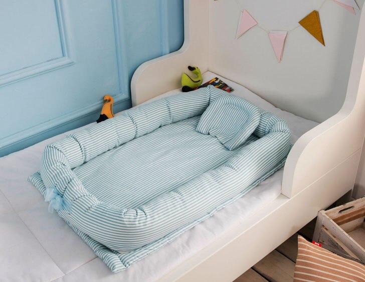 все цены на Portable folding Newborn Baby sleeping artifact 90*55*15CM Travel Bed For Children Kids Bassinet Crib