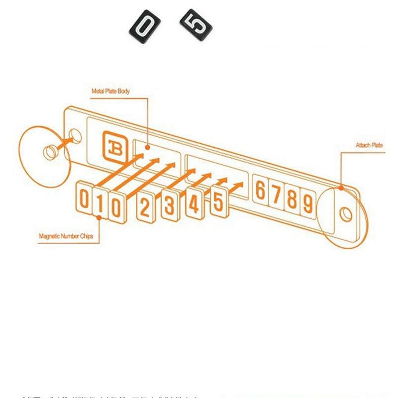 """Laikina magnetinė """"Suzuki Swift SX4"""" stovėjimo kortelė - Automobilių išoriniai aksesuarai - Nuotrauka 3"""