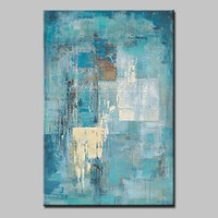 Arthyx Art Hand Painted Abstract Oil Paintings on Canvas For Living Room Home Decoration Wall Art Pictures Posters Wall Painting