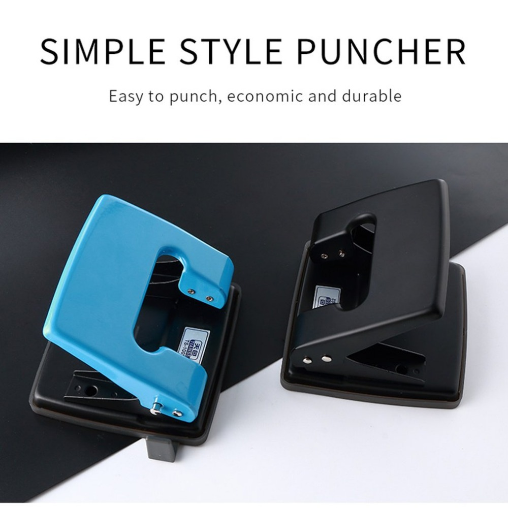 Double Hole Punching Machine 2 Holes Standard Punch manual round hole punch for Offices Files Hole Size 6mm 20 Papers One Time  free shipping office school hole puncher round double hole binding manual drilling machine fashion portable mini easy to use