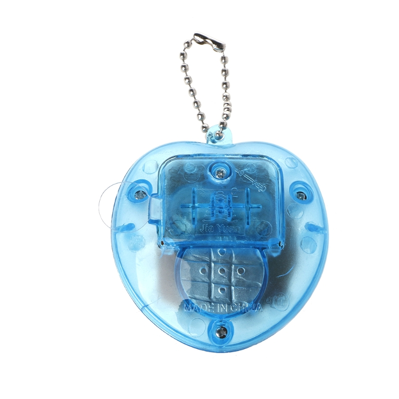 Image 3 - Cute Heart Shape LCD Virtual Digital Pet Electronic Game Machine With Keychain-in Handheld Game Players from Consumer Electronics
