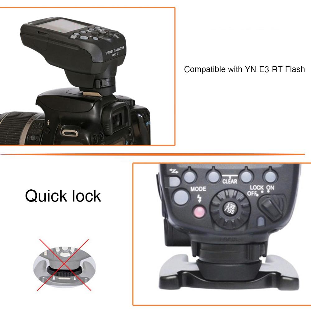 Yongnuo YN600EX-RT II TTL Flash Speedlite + YN-E3-RT Controller Voor - Camera en foto - Foto 5