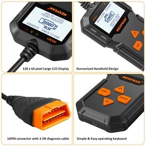 Image 5 - OBD2 Automotive  Auto Diagnostic Scanner Full OBD Modes Scan Tools Car Code Reader  Diagnostic Car ODB 2 Pk AD310 ELM327