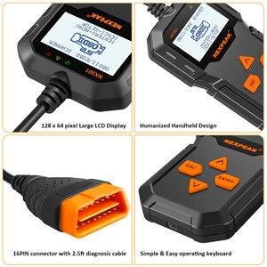 Image 5 - Scanner de Diagnostic automatique des véhicules à moteur OBD2 plein Modes OBD outils de balayage lecteur de Code de voiture voiture de Diagnostic ODB 2 Pk AD310 ELM327