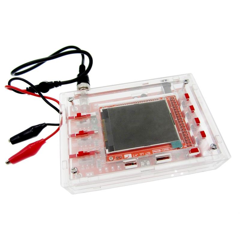 DSO138 2.4 TFT Digital Oscilloscope Kit DIY 200KHz Tester 1Msps Bandwidth Probe Electronic Production Suite