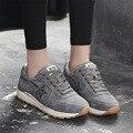 NOVA Emagrecimento Sapatos Moda Mulher 2017 Apartamentos Sapatos Casuais Mulheres Senhora Balanço Sapatos de Fitness Respirável de Alta Qualidade Sapatos Femininos