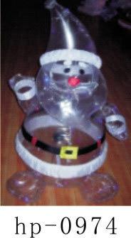 Надувной Рождественский Санта Клаус Снеговик Декоративный Рождественский олень для дома детские игрушки надувные рождественские игрушки - 2