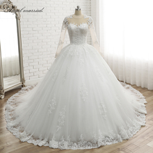 Sexy Off The Shoulder Ruffles White Ivory Organza Ball Gowns Wedding Dresses Lace Up Bridal Vestido De Noiva