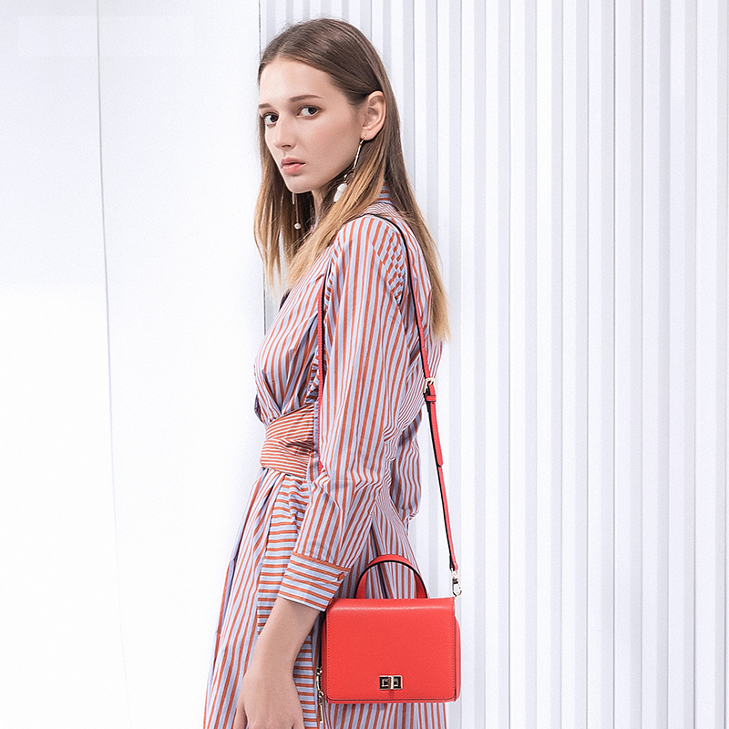 Sendefn New Arrival Small Crossbody Bag Split Leather Women Bag New Female Bag Brand Handbag Quality Women Messenger Bags For new arrival crocodilian veins embellished handbag slanting bag for female