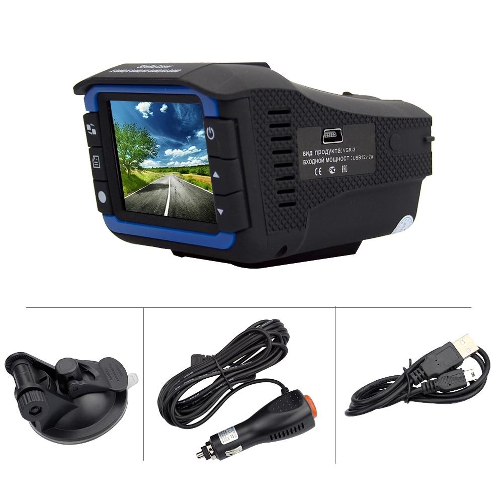 OkeyTech Best 2 In 1 Anti Laser Car Radar Detector G-sensor DVR Camera Recorder Russian&English Version