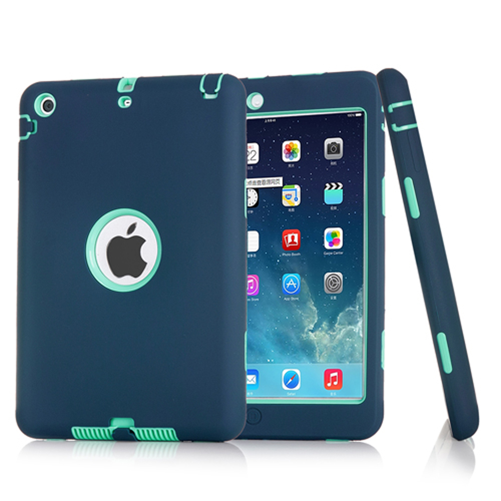 Fashion New Armor Case For iPad mini 1 2 3 Kids Safe Heavy Duty Silicone Hard Cover For Ipad mini 1 2 3 Tablet Case +PenFashion New Armor Case For iPad mini 1 2 3 Kids Safe Heavy Duty Silicone Hard Cover For Ipad mini 1 2 3 Tablet Case +Pen