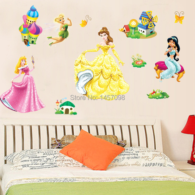 2015 Removable Children\'s room Bedroom Background Wall Decor ...