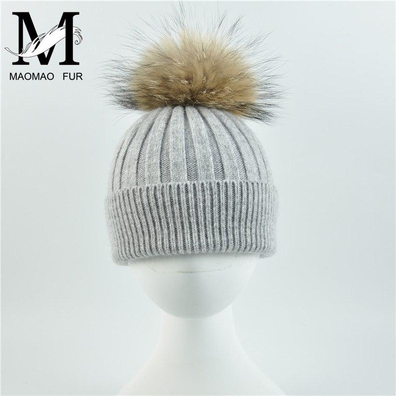 MFAZ Morefaz Ltd Winter Cappello Cristallo Grand Pom Pom Invernale di Lana Berretto delle Signore delle Donne Beanie Hat Pera Sci Snowboard di Moda