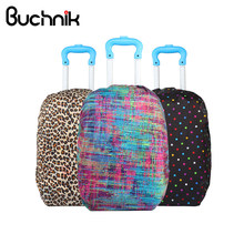 BUCHNIK Waterproof Luggage Protector Cover Adjustable Travel Suitcase Backpack School Bag Case Dust Rain Accessories Supplies(China)