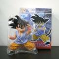 14cm Dragon Ball Z Super Saiyan Son Goku Son Gohan Action Figure PVC Collection figures toys for christmas gift brinquedos