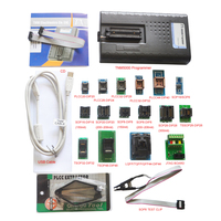 2019 New TNM5000 USB Atmel EPROM Programmer memory recorder+16pc adapters+IC Clip for NAND flash/EPROM/MCU/PLD/FPGA/ISP/JTAG