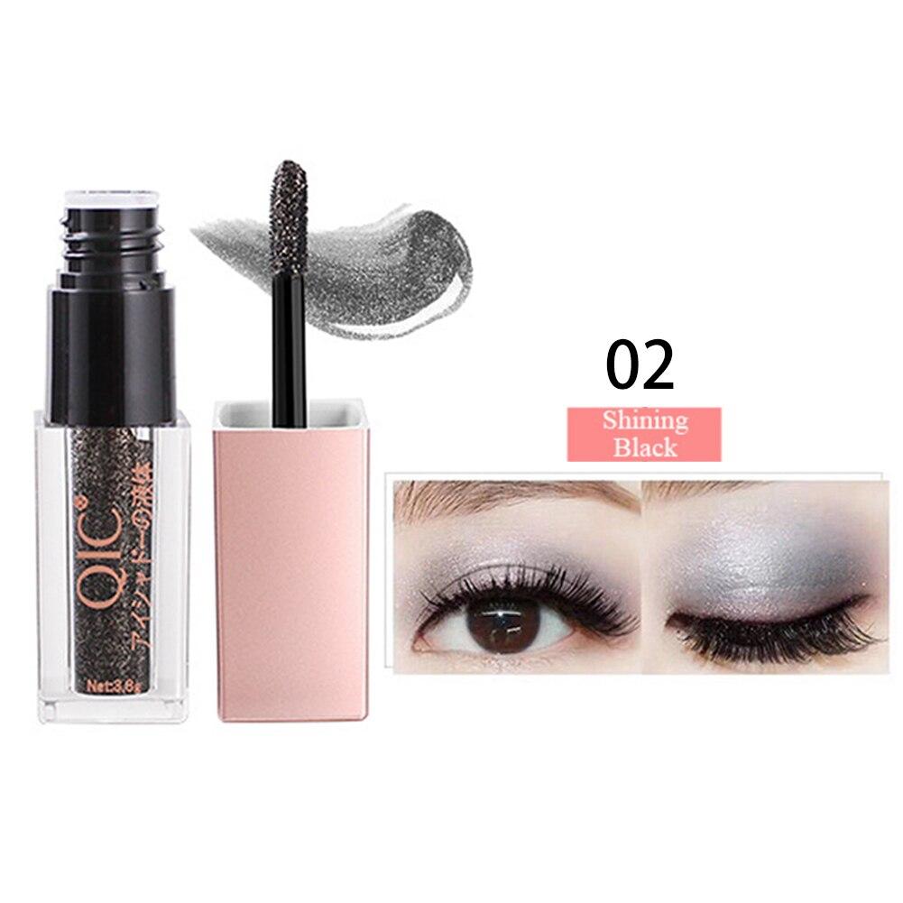 Eye Shadow 1pc Color Shiny Diamond Liquid Water Eye Shadow High Gloss Powder Pearlescent Long-lasting Liquid Eye Shadow Waterproof Beauty & Health