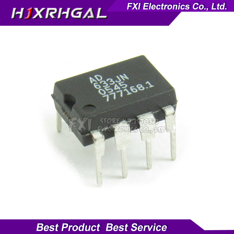5pcs <font><b>AD633JN</b></font> AD633 Low Cost Analog Multiplier DIP-8 In Stock image