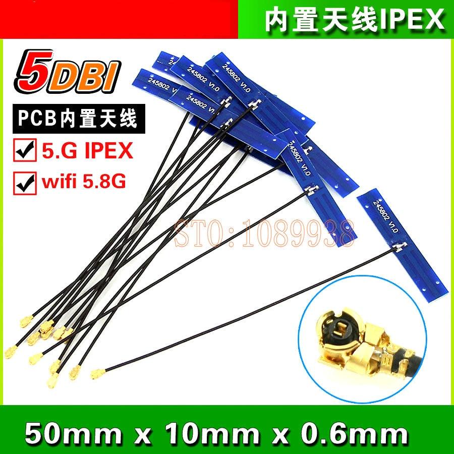 5.8G antenna 5DB 1.13 kabel 15cm 2 PCS ilə quraşdırılmış antenna yüksək gəlir
