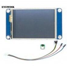 """5 ピース/ロット英語 Nextion 2.4 """"TFT 320 × 240 UART HMI LCD モジュールディスプレイのラズベリーパイ"""