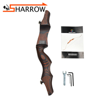 1pc 19inch Recurve Bow Riser Archery ILF Wooden Handle Right Hand Shooting For Outdoor Hunting Accessories