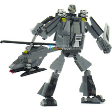 New Storms Robots Assembling Toys Building Blocks Assembled Blocks Best Gift for Children