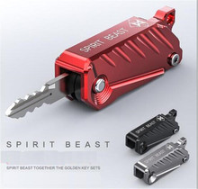 SPIRIT BEAST Motorcycle Key Cover BJ150/300 BN600 Decorator Motorbike Keychain TNT150 Accessories  Moto Styling Without