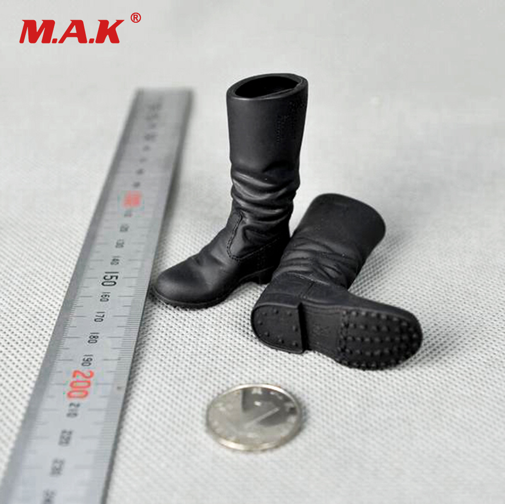 1/6 Scale WWII Soldier Combat Shoes Model for 12 inches Male Action Figures Accessories world war ii german wwii wehrmacht officer 1 6 soldier set model stanford erich vo gm637 for gift collection