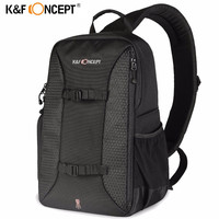 K F CONCEPT Camera Shoulder Bag Waterproof Multifunctional Casual Travel Bag With Removable Inner Dividers For