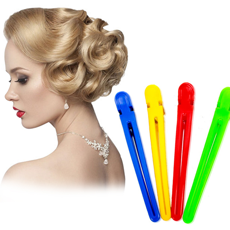 styling hair clips 5pcs colorful hair professional hairdressing 3869 | 5Pcs Colorful Hair Clips Professional Hairdressing Hairpins Salon Sectioning Hair Clip Styling Tools Braiding Accessory Hair