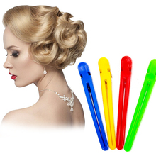 5PCS Colorful Hair Clips Professional Hairdressing Salon Sectioning Styling Tools Section Accessories