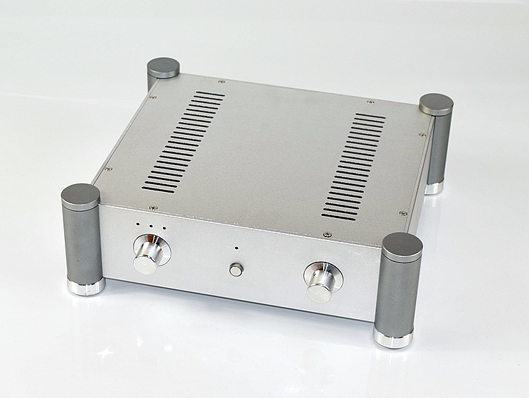 WA127 Aluminum enclosure Preamp chassis Power amplifier case/box size 315*355*115mm 2515 aluminum enclosure preamp chassis power amplifier case box size 311 253 150mm