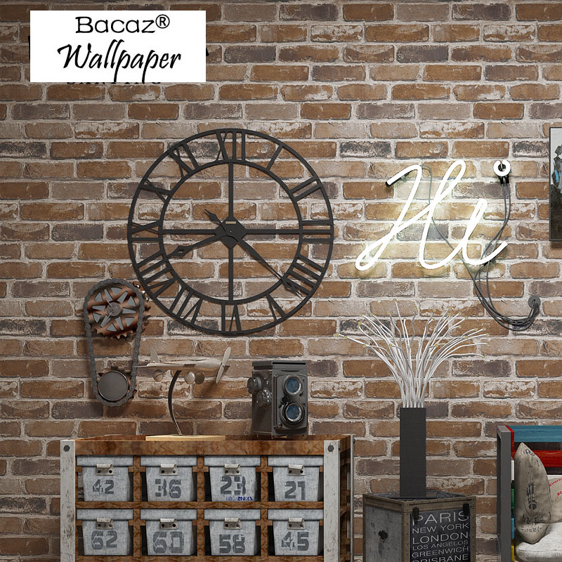 3d Papel de parede 3D Bricks Wallpaper Rolls for Livinging Room 3D Wall paper background 3d vinyl wall coverings Roll 3d papel de parede artificial bamboo wallpaper mural rolls for background 3d photo wall paper roll for living room cafe