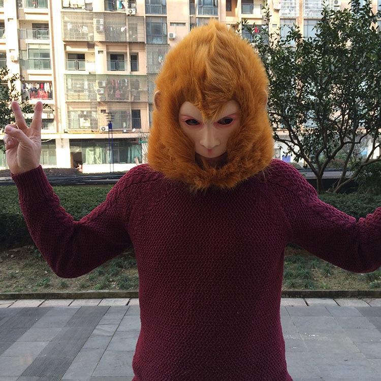 Monkey King maskë Halloween / Christmas Costume Theater Prop Latex - Furnizimet e partisë - Foto 2