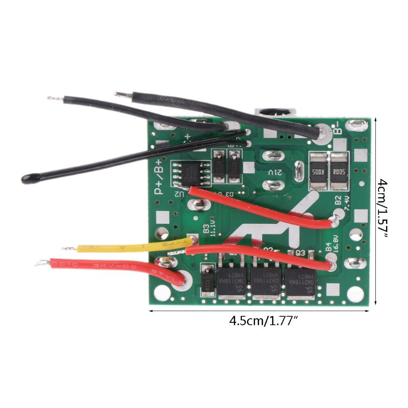 High Quality 2019 New 5S 18/21V 20A Li-Ion Lithium Battery Pack Battery Charging Protection Board
