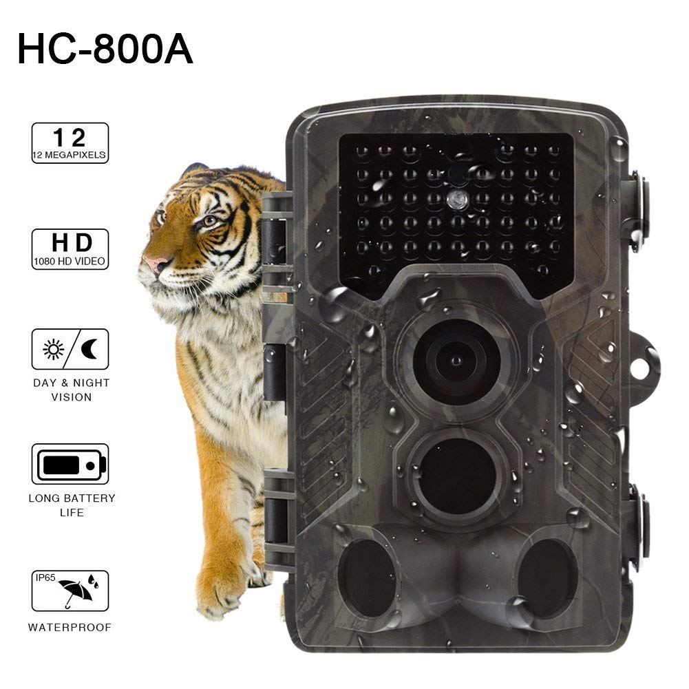 HC800A Hunting Camera Full HD 12MP 1080P Video Wild Night Vision Hunting Cameras Trap Scouting Infrared