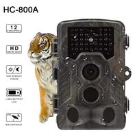 HC800A Hunting Camera Full HD 12MP 1080P Video Wild Night Vision Hunting Cameras Trap Scouting Infrared IR Trail Trap